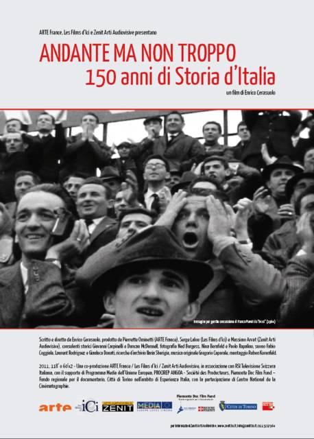 Andante ma non troppo-150 anni di storia d'Italia