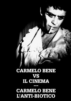 Carmelo Bene vs il cinema