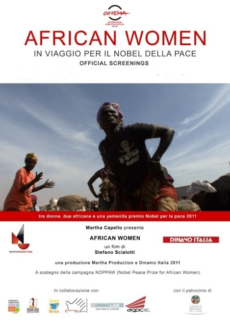 African women: in viaggio per il nobel della pace